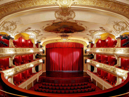 National Moravian Silesian Theatre Antonin Dvorak Theatre.